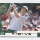 PHIL MICKELSON 2002 Upper Deck UD #41 ROOKIE