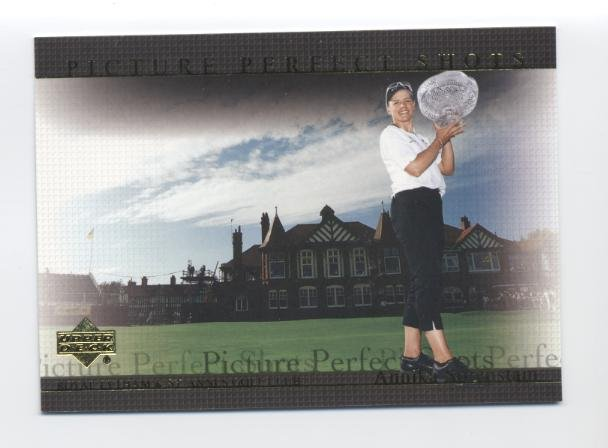 ANNIKA SORENSTAM 2004 Upper Deck Picture Perfect Shots