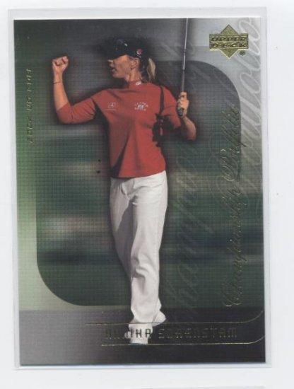 ANNIKA SORENSTAM 2004 Upper Deck Championship Portfolio #22 LPGA