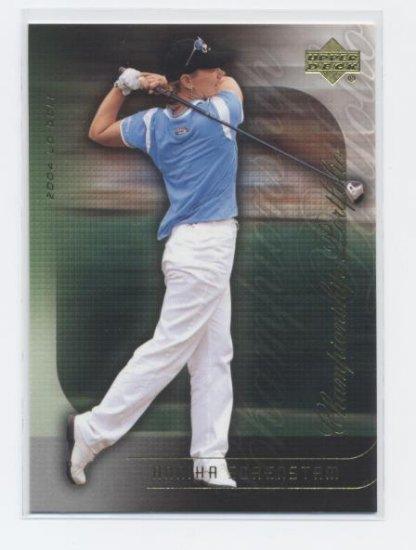 ANNIKA SORENSTAM 2004 Upper Deck Championship Portfolio #32 LPGA