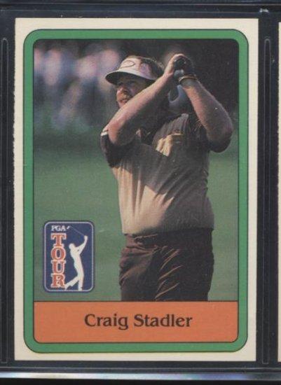CRAIG STADLER 1981 Donruss #8 Rare ROOKIE PGA