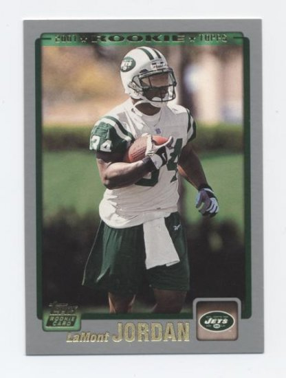 LaMONT JORDAN 2001 Topps #374 ROOKIE Raiders MARYLAND