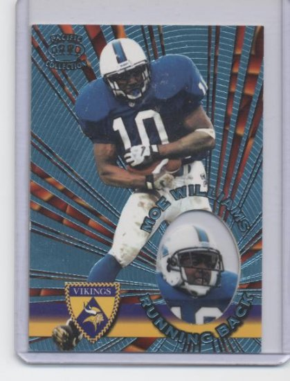 MOE WILLIAMS 1996 Pacific Platinum Blue ROOKIE