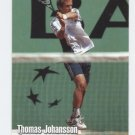 THOMAS JOHANSSON 2003 NetPro #35 ROOKIE Sweden