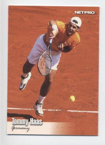 TOMMY HAAS 2003 NetPro #92 SP ROOKIE Germany