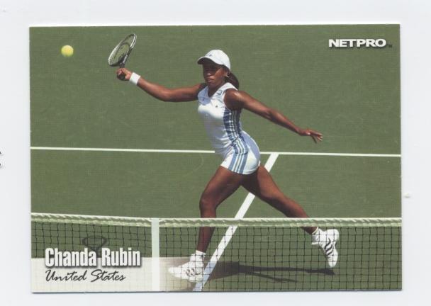 CHANDA RUBIN 2003 NetPro #41 ROOKIE USA