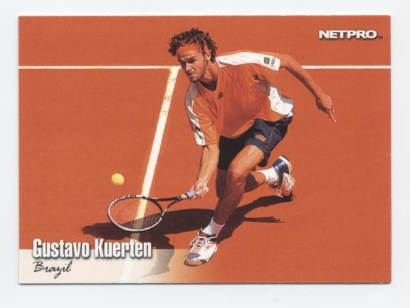 GUSTAVO KUERTEN 2003 NetPro #6 ROOKIE Brazil