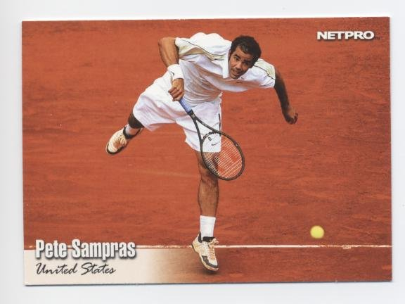 PETE SAMPRAS 2003 NetPro #87 USA
