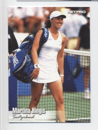 MARTINA HINGIS 2003 NetPro #33 ROOKIE Switzerland