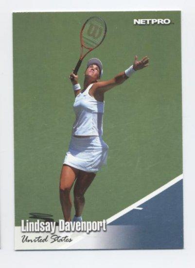 LINDSAY DAVENPORT 2003 NetPro #16 ROOKIE USA