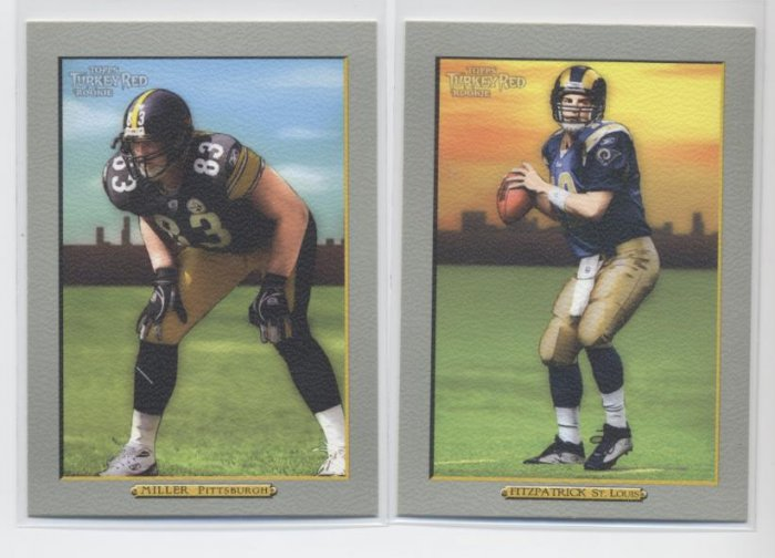 RYAN FITZPATRICK 2005 Topps Turkey Red ROOKIE Rams