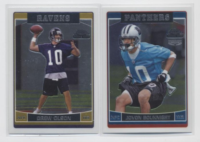 DREW OLSON 2006 Topps Chrome ROOKIE Ravens UCLA BRUINS