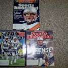 (3) 2005 Sports Illustrated NEW ENGLAND PATRIOTS Super Bowl covers