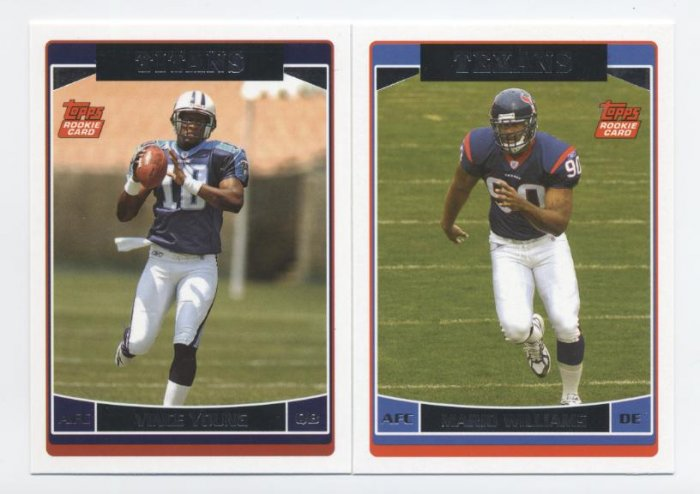 MARIO WILLIAMS 2006 Topps ROOKIE Houston Texans