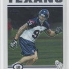 JASON BABIN 2004 Topps Chrome ROOKIE Texans