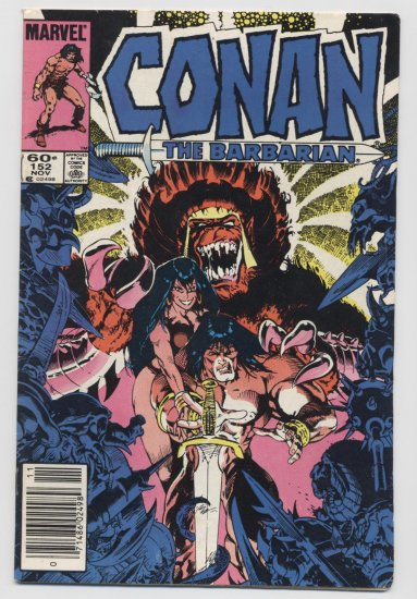 Marvel Comics: Conan The Barbarian #152 November 1983