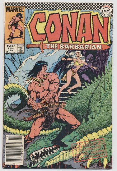 Marvel Comics: Conan The Barbarian #154 January 1984