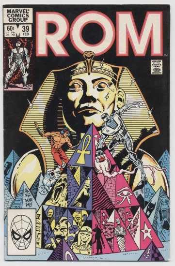 Marvel Comics: ROM #39 February 1983