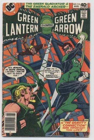 DC Comics: Green Lantern & Green Arrow #119 August 1979