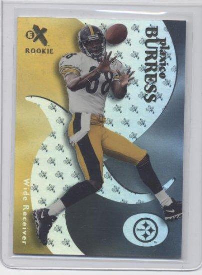 PLAXICO BURRESS 2000 Fleer EX E-X ROOKIE Steelers #d