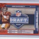 JOHN DAVID BOOTY 2008 Prestige NFL Draft ROOKIE INSERT Vikings USC TROJANS