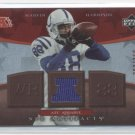 MARVIN HARRISON 2007 UD Artifacts JERSEY #d/250