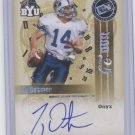 TY DETMER 2008 Press Pass Legend Bowl Edition Top 25 Onyx AUTO #d/25 BYU Cougars QB