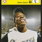 HENRY HANK AARON 1977 Sportcaster Japan card Atlanta Braves