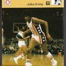 JULIUS ERVING Dr. J 1977 Sportcaster Japan card Philadelphia 76ers