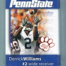 PENN STATE Second Mile 2008 Football Complete Set