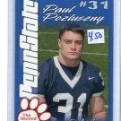 PAUL POSLUSZNY  2004 Penn State Second Mile college card BILLS Jaguars