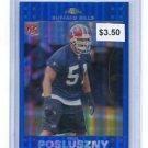 PAUL POSLUSZNY 2007 Topps Chrome BLUE REFRACTOR #TC244 Bills PENN STATE Rookie