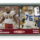 BRANDON NOBLE 2003 Topps Total SILVER SP #440 PENN STATE Cowboys - his only ROOKIE