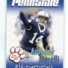 ANTHONY MORELLI 2007 Penn State Second Mile QB Cardinals