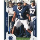 JUSTIN KING 2008 UD Draft Edition #81 Penn State RAMS Rookie