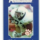 JIMMY KENNEDY 2001 Penn State Second Mile College Card RAMS DT