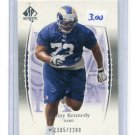 JIMMY KENNEDY 2003 SP Authentic #d/2200 Penn State RAMS Rookie