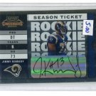 JIMMY KENNEDY 2003 Playoff Contenders AUTO #d/514 Penn State RAMS Rookie