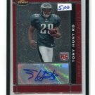 TONY HUNT 2007 Topps Finest ROOKIE AUTO Penn State EAGLES