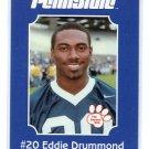 EDDIE DRUMMOND 2001 Penn State Second Mile LIONS PRE-ROOKIE