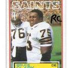 BRUCE CLARK 1983 Topps #111 ROOKIE Penn State SAINTS