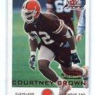 COURTNEY BROWN 2000 Fleer Focus #d/3999 ROOKIE Penn State BROWNS