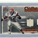 COURTNEY BROWN 2001 Fleer Premium JERSEY Penn State BROWNS
