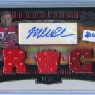 MICHAEL ROBINSON 2006 Topps Triple Threads Gold AUTO JERSEY #d/25 ROOKIE Penn State 49ers