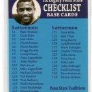 CURT WARNER 2006 TK Legacy Checklist #3 PENN STATE RB