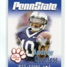 ANDREW QUARLESS 2007 Penn State Second Mile TE