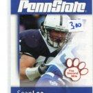 SEAN LEE 2008 Penn State Second Mile LB & Team Captain DALLAS COWBOYS