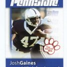 JOSH GAINES 2008 Penn State Second Mile EAGLES