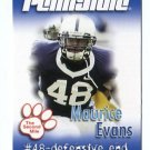 MAURICE EVANS 2007 Penn State Second Mile NY GIANTS