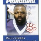 MAURICE EVANS 2008 Penn State Second Mile NY GIANTS